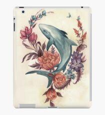 Floral Shark iPad Case/Skin