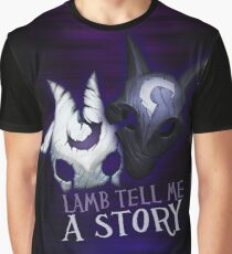 Lamb tell me a story Kindred Graphic T-Shirt