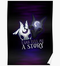 Lamb tell me a story Kindred Poster