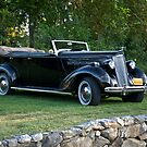 1936 Packard Convertible Sedan by DaveKoontz