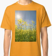 Sun Halo Over The Canola Classic T-Shirt