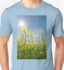 Sun Halo Over The Canola Unisex T-Shirt
