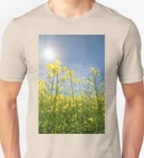 Sun Halo Over The Canola Unisex T-Shirt