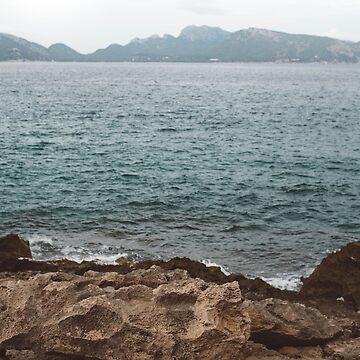 Mediterranean Shore by zoemeinke