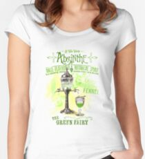 Absinthe the Green Fairy Women's Fitted Scoop T-Shirt