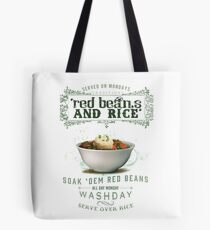 Red Beans and Rice Tote Bag