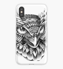 Ornate Owl Head iPhone Case/Skin