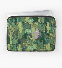 Cactus Sloth Laptop Sleeve