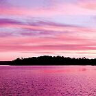 Pink Magenta Sunset.Seascape by sunnypicsoz