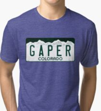 Colorado Gaper Plate Tri-blend T-Shirt