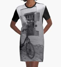 Bicycle Niche Graphic T-Shirt Dress