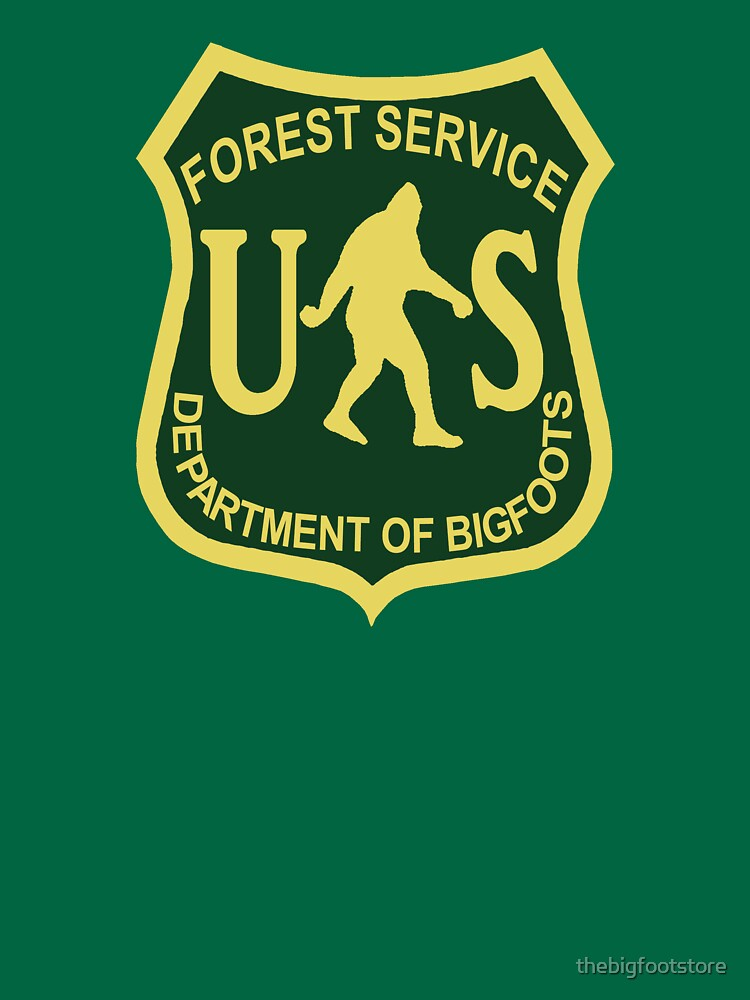 US Forest Service Bigfoot  von thebigfootstore
