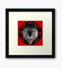 Werewolf wolf Framed Print