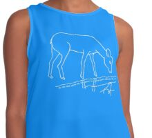 As the Deer Psalm 42:1 By Keren (in white) Contrast Tank