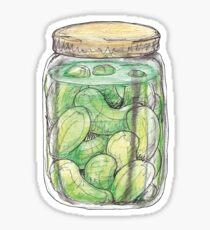 Pickle Jar heaven Sticker