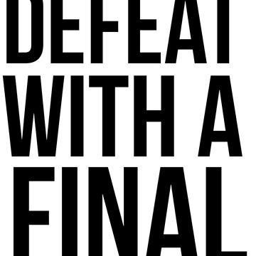 Niederlage - F. Scott von kjanedesigns