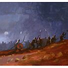 Viking raiders by David  Kennett