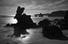 Rabbit Rock (Bunny Rock) - Montforts beach. by Jim Worrall