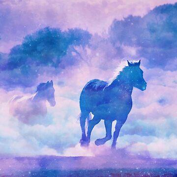 Horses run by CatyArte