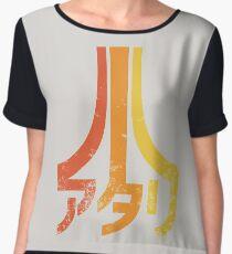 Japanese Atari Chiffon Top