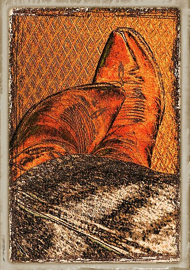 """""""It's ALL in the Boots""""... prints and products by Bob Hall©"""