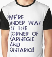 Carnegie and Ontario Graphic T-Shirt