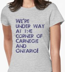 Carnegie and Ontario Women's Fitted T-Shirt