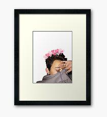 cuddly justin blake Framed Print