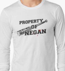 Property Of Negan Long Sleeve T-Shirt