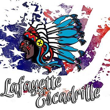 Lafayette Escadrille 3 von wicket1138