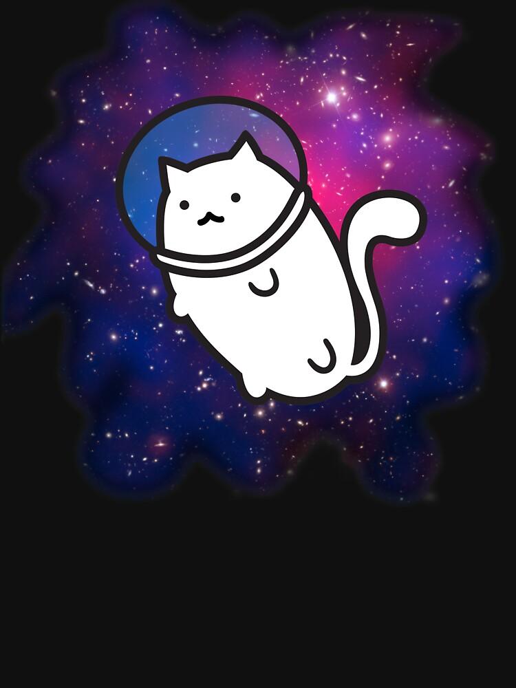 Fat Cat in Space 1 by Keska