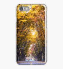 Autumn Stroll iPhone Case/Skin