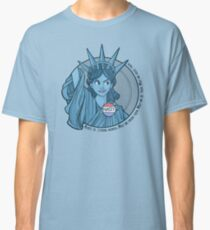 Nasty Lady Liberty Classic T-Shirt