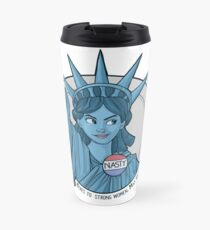 Böse Dame Liberty Thermobecher