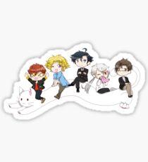 Mystic Messenger Longcat Sticker