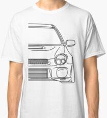 wrx sti outline - black Classic T-Shirt