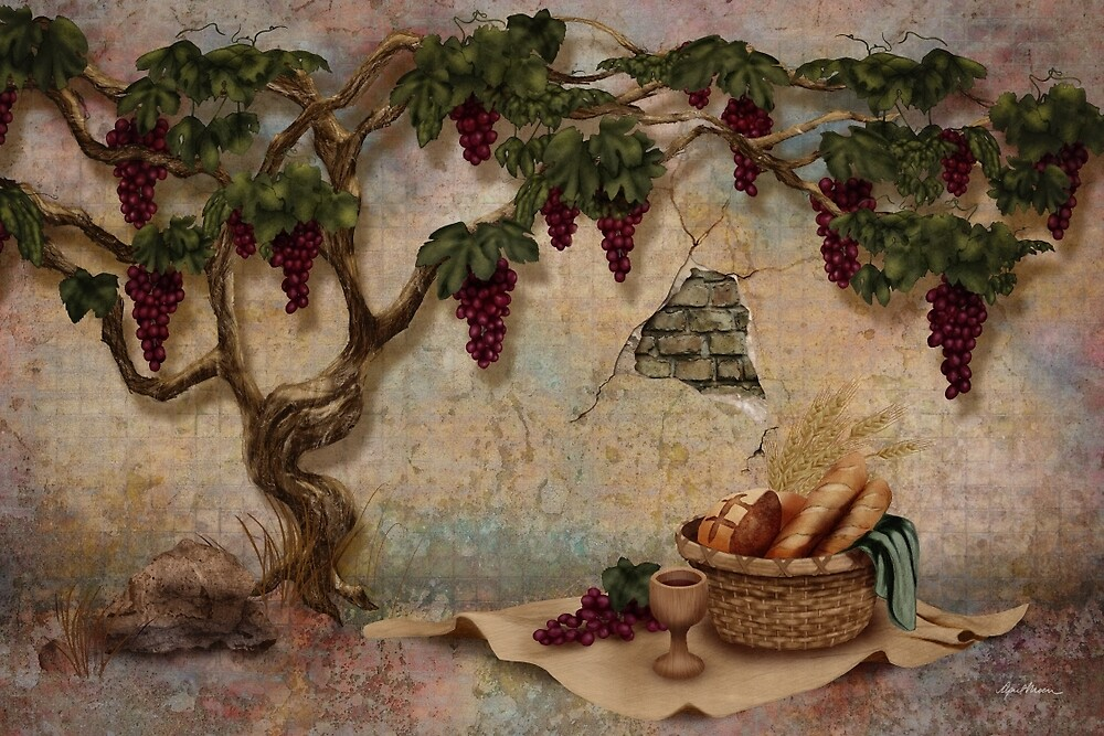 The Bread and the Vine by April  Moen