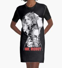 mr robot Graphic T-Shirt Dress