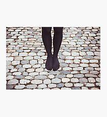 No shoes, no problem Photographic Print