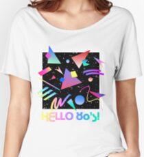 HELLO MEMPHIS (black) Women's Relaxed Fit T-Shirt