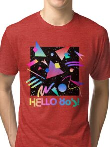 HELLO MEMPHIS (black) Tri-blend T-Shirt
