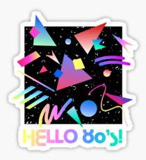 HELLO MEMPHIS (black) Sticker