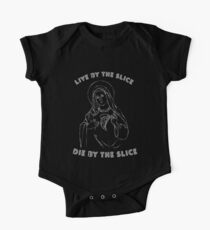 The Pizza Virgin Short Sleeve Baby One-Piece