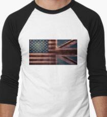 American Jack III Men's Baseball ¾ T-Shirt