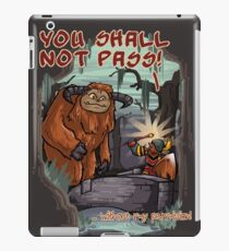 Without my permission! iPad Case/Skin