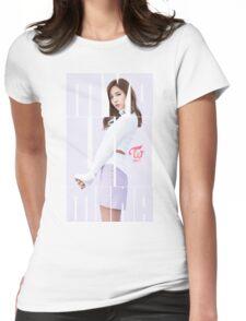 TWICE 'TT' Mina Typography Womens Fitted T-Shirt