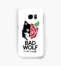 BAD WOLF Samsung Galaxy Case/Skin