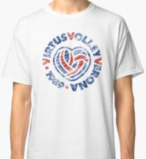 VIRTUS VOLLEY VERONA scratched Classic T-Shirt