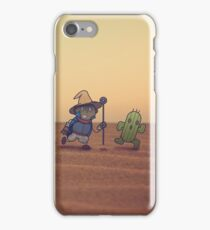 Getting along with the locals iPhone Case/Skin