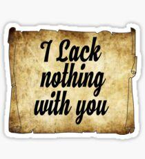 Parchment  Sticker